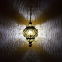Kayla marokkói mennyezeti lámpa
