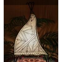 Emira marokkói henna állólámpa natúr 43 cm