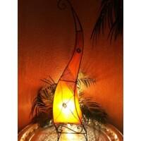 Methap marokkói henna állólámpa narancs 100 cm