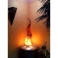 Mogador marokkói henna állólámpa narancs 90 cm