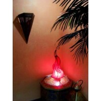 Mogador marokkói henna állólámpa piros 60 cm