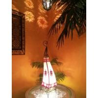 Riham marokkói henna állólámpa színes 80 cm