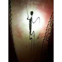 Suma marokkói henna fali lámpa