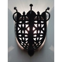 Suna marokkói fali lámpa
