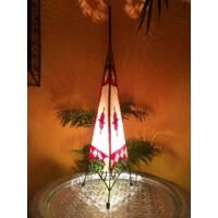 Tarub marokkói henna állólámpa 100cm