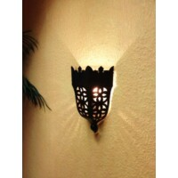 Tuba marokkói fali lámpa