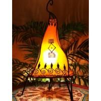 Zeliha marokkói henna állólámpa narancs 42 cm