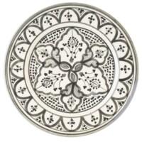 Achmet marokkói kerámia tányér