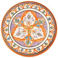 Achraf marokkói kerámia tányér