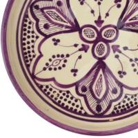 Alijan marokkói kerámia tányér