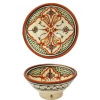 Amaru marokkói kerámia tányér