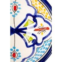 Danyan marokkói kerámia tányér