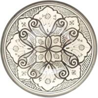 Liyah marokkói kerámia tányér