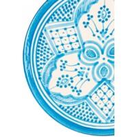 Safroun marokkói kerámia tortatányér / tortaállvány