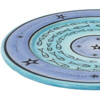 Samak marokkói kerámia tányér