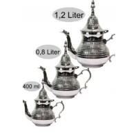 Elihan marokkói teakiöntő ezüst  400 ml