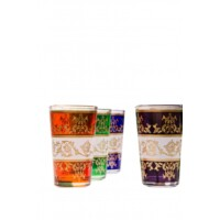 Laman marokkói tea pohár többszínű