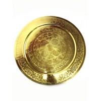 Afaf arany marokkói tálca 60 cm