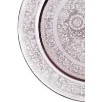 Afaf ezüst marokkói tálca 50 cm