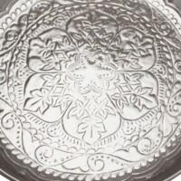 Afet ezüst marokkói tálca 31 cm