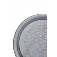 Amana ezüst marokkói tálca 40 cm