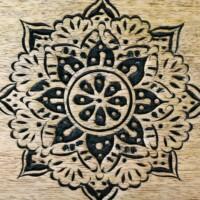 Arash arany fa marokkói tálca 38 cm