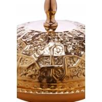 Fassia arany marokkói tálca 26 cm