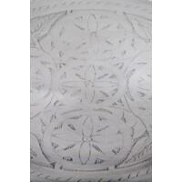 Kamil ezüst marokkói tálca 48 cm