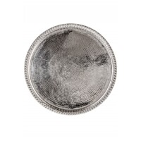Mahra ezüst  marokkói tálca 37 cm