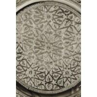Mehdia ezüst marokkói tálca 35 cm
