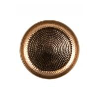 Mia rézvörös marokkói tálca 40 cm