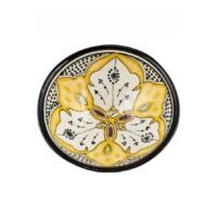 Aram marokkói kerámia tányér