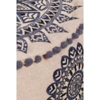 Aziza textil puff / ülőpárna