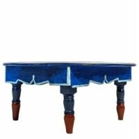 Meknes kék berber asztal