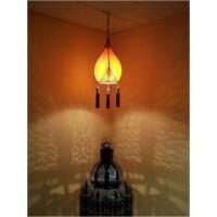 Anut marokkói mennyezeti lámpa narancs