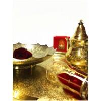 Bassam keleti teázási kellék tartó tál