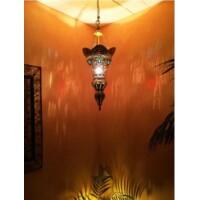 Baysan marokkói mennyezeti lámpa arany