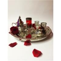 Bensu marokkói teázási kellék tartó tál