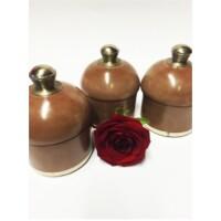 Damita marokkói teázási kellék tartó tál tadelakkal