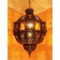 Fanan marokkói mennyezeti lámpa