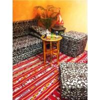 Iman antik keleti teázó asztal antik színben