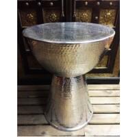 Carmita indiai alumínium teázó asztal