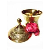 Kadir marokkói teázási kellék tartó tál
