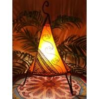 Kayra marrokkói álló lámpa narancs 38 cm