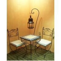 Malaga marrakeshi szék vasból