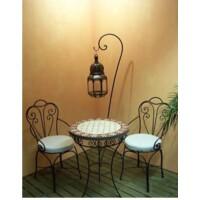 Marbella marrakeshi szék vasból