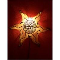 Nejma marokkói mennyezeti lámpa natúr