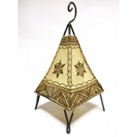 Nilay marrokkói henna állólámpa natúr 38 cm