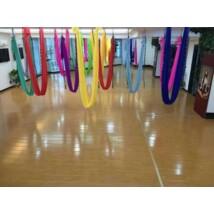 Antigravitációs jóga függőágy sárga színű 4 méteres