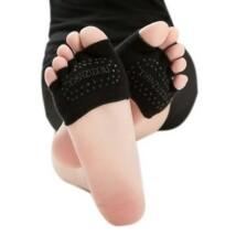 Fekete feles jóga zokni